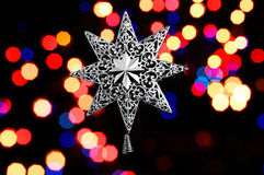 Decorative christmas star Stock Photography