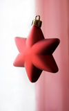 Decorative Christmas star Stock Photo