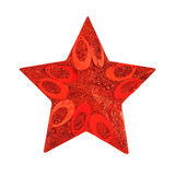 Decorative Christmas star Royalty Free Stock Photography