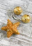 Decorative Christmas star Stock Image