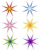 Decorative Christmas Stars Stock Photos