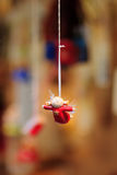 Decorative  Christmas toy. Stock Images