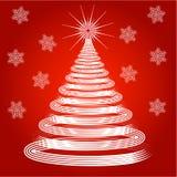 Decorative christmas tree Stock Photos