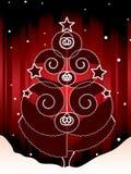 Decorative christmas tree Stock Photography