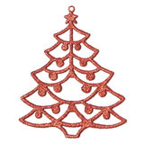 Decorative Christmas tree. Royalty Free Stock Photography