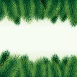 Decorative christmas tree background Stock Images
