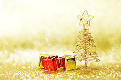 Decorative christmas tree Royalty Free Stock Image
