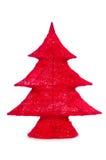 Decorative christmas tree isolated Stock Photography