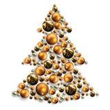 Decorative Christmas Tree Royalty Free Stock Image