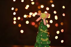 Decorative christmas tree Stock Image