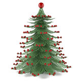 Decorative christmas tree toy Stock Images