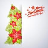 Decorative christmas tree. Stock Photo