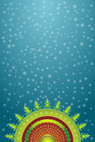Decorative christmas,vector. Decorative christmas with many pines,vector illustration Stock Image