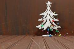 Decorative Chritmas tree royalty free stock image