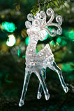 Decorative Chrystal moose shape Stock Photo