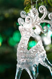 Decorative Chrystal moose shape ornament Stock Photos