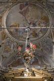 Decorative church lamp Stock Photo