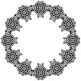Decorative circle Royalty Free Stock Image