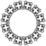Decorative circle Stock Image