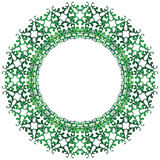 Decorative circle Royalty Free Stock Photography