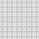 CIRCLE PATTERN ABSTRACT BACKGROUND VECTOR vector illustration