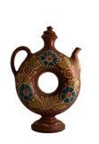 Decorative clay jug Royalty Free Stock Images