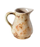 Decorative clay jug Stock Photo