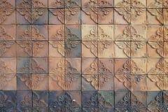 Decorative clay tile Royalty Free Stock Photos