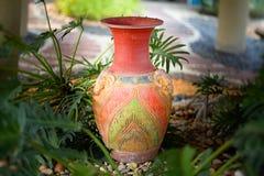 Decorative clay vases royalty free stock photo
