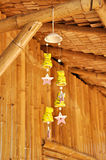 Decorative clay wind chimes Royalty Free Stock Photography