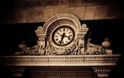 Decorative clock Royalty Free Stock Images