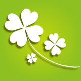 Decorative clover Royalty Free Stock Images