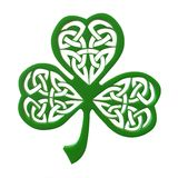Decorative Clover Leaf Royalty Free Stock Photos