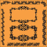Decorative colorful frame Royalty Free Stock Photos