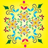 Decorative colorful pattern Royalty Free Stock Photos