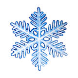 Decorative colorful snowflake. Stock Images