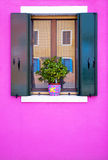 Decorative colorful window Royalty Free Stock Photo