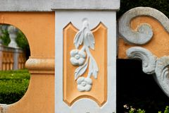 Decorative column Royalty Free Stock Images