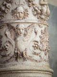 Decorative column venice Stock Photography