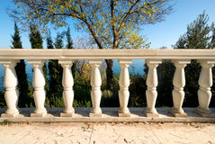 Decorative columns Royalty Free Stock Photo