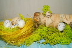 Decorative composition Easter Stock Image