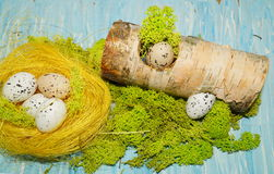 Decorative composition Easter Royalty Free Stock Images