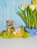 Decorative composition Easter Royalty Free Stock Image