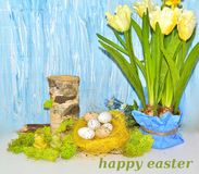 Decorative composition Easter Stock Photography