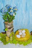 Decorative composition Easter Stock Photo