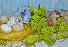 Decorative composition Easter Royalty Free Stock Photos