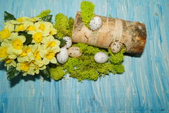 Decorative composition Easter Stock Images