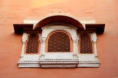 Decorative Concrete Window Frame Stock Image