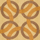 Decorative connected circles - seamless background - Interior De Royalty Free Stock Photos