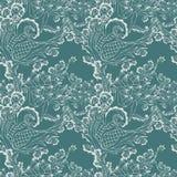 Decorative contour pattern Stock Photo